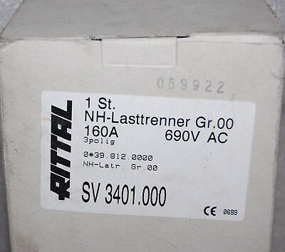 Rittal 3401.000 Fuse Switch Disconnector
