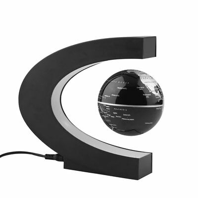 World Map Decoration Magnetic Levitation Floating Globe With C-shaped Base LOT U