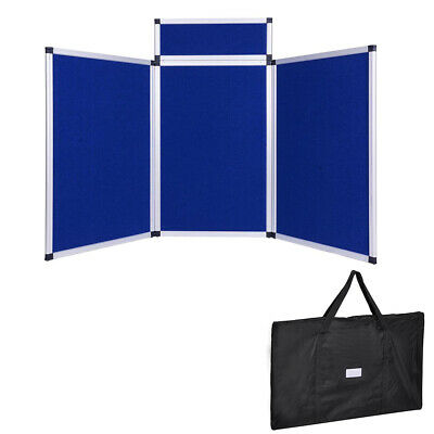 3 Panel Tradeshow Display Stand Header Board Aluminum Frame Office Logo INCD VAT