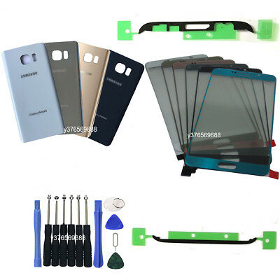 For Samsung Galaxy Note 5 N920 OEM Front Screen Glass Back Replacement Kit