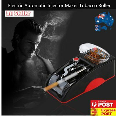 Electric Automatic Cigarette Injector Rolling Machine Tobacco Roller bb
