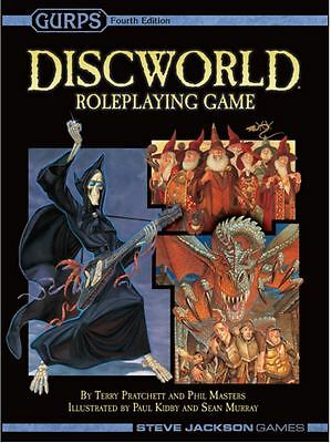 Gurps Discworld Roleplaying Game -Core Rulebook
