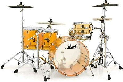 Pearl Crystal Beat CRB524FP/C #732 Tangerine Glass