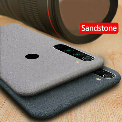 For Xiaomi Redmi Note 6 Pro 5 Shockproof Soft TPU Sandstone Matte Case Cover