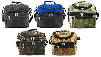 Eastwest Usa Insulated Tactical Lunch Cooler Bag Shoulder Tote W Zip Closure