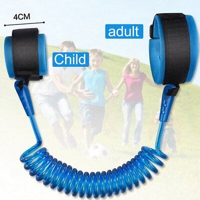 Adjustable Harness Leash Strap Kids Safety Anti Lost Wrist Link Band Strap Fi