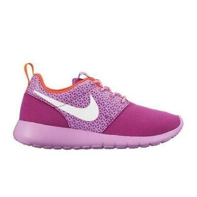 Nike Roshe One SE GS chaussures gris violet