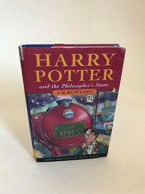 Harry Potter and The Philosophers Stone 1st edition UK 19th printing JK Rowling