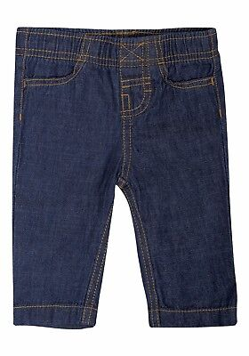 Ex UK Chainstore Boys Kids Jeans Trousers Pants Bottoms Regular Fit Blue Denim