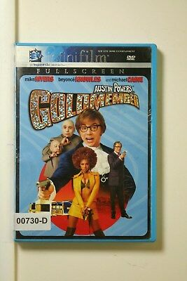 DVD Movie AUSTIN POWERS IN GOLDMEMBER Mike Myers