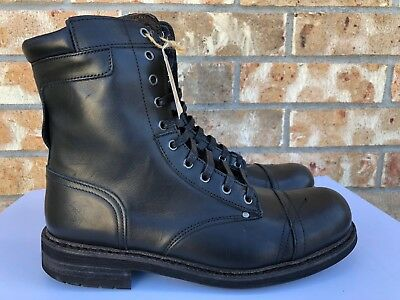 561c408ebef DIESEL MENS CASSIDY Brown Laced Leather Boots - NIB - Size 11 ...