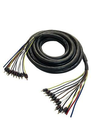 RDCARSHOW PROFESSIONAL MEDUSA 30ft 15 CHANNELS  (audio cable)