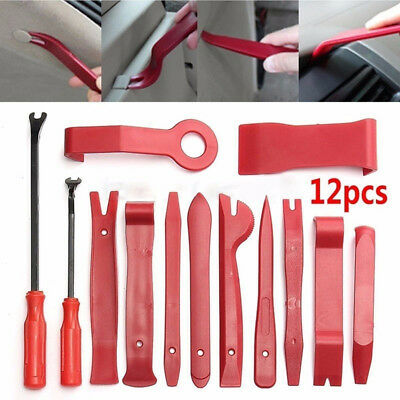 12Pcs/Set Auto Trim Removal Tools Car Disassembly Spoiler Audio Removal Tools HM