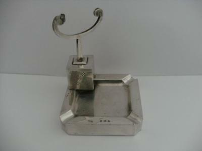 SOLID SILVER ASHTRAY Birmingham 1932