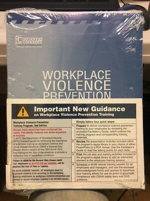 Workplace Violence Prevention Training Personnel Concepts workbook