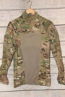 Multicam Massif Type II ACS Flame Resistant Army Combat Shirt 1/4 Zip Small