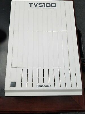Panasonic KX-TVS100  2 port Voicemail for KX-T and KX-TD Phone systems TESTED