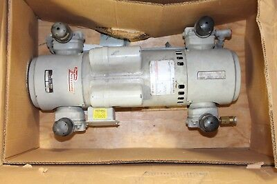 Piston Air Compressor,2HP,115/230V,1Ph GAST 8HDM-19-M800X