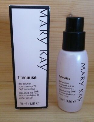 Mary Kay TimeWise Day Solution (Tagesfluid) Sunscreen SPF 30 High Protection NEU
