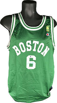 d3ffa59f487 AUTOGRAPHED BILL RUSSELL Boston Celtics Jersey Beckett certified ...