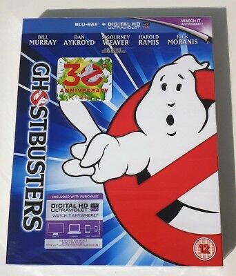 Ghostbusters 30th Anniversary Blu-Ray Region Free New Sealed