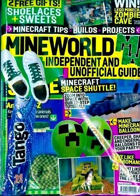 Mineworld Minecraft Magazine Issue 34 ~ New Sealed Pack ~