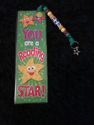 Childrens Personalised Reading Star  Bookmark
