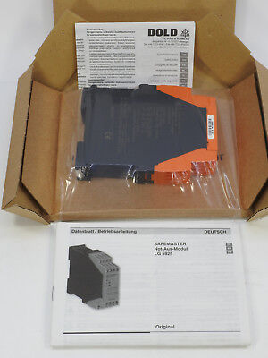 Dold Safety Relay, Emergency Stop and Safety Gates Module LG5925-48-61-110