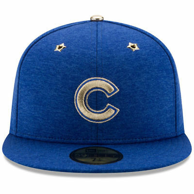 Chicago Cubs New Era Heathered Royal 2017 MLB All-Star Game ASG 7 3/4 59FIFTY