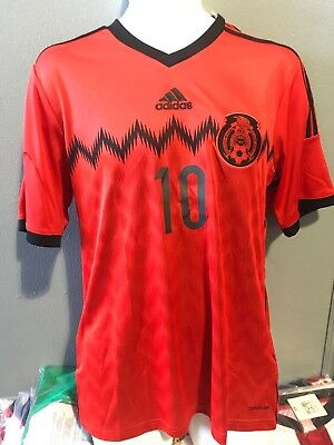 Nombre de playera Roja Mexico Away adidas Chicharito authentic brazil 2014.   12.99 Buy It Now 18d 17h. See Details. mexico red jersey whit name and  number ... 595f650b0a3bb