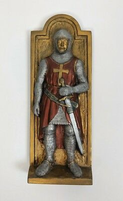 Marcus Replicas Wall Art Armored Knight Made in England Hand Painted