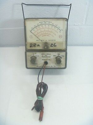 dwell angle and tachometer model bt 162