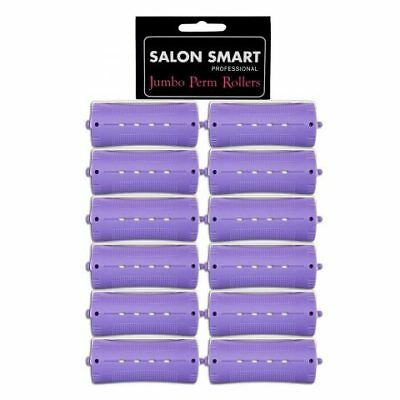 Salon Smart Jumbo Perm Rods (Perm Rollers) – 33mm Hair Colour Color