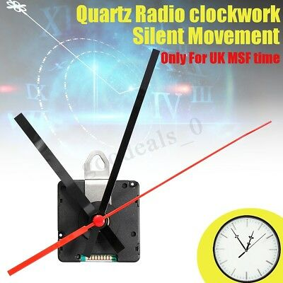 DIY Atomic Radio Controlled Ticking Quartz Wall Clock Movement Mechanism Kit Set