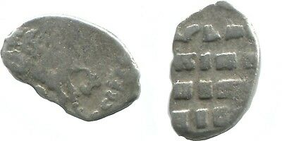 Russia 1696-1717 PETER I The GREAT Wire Silver Kopek 0,4gr/10mm @AB838.10U