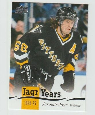 2018/19 UD Series 1 Jagr Years Complete Your Set Pick from List CYS