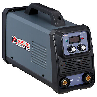 MMA-200 Amp Stick Arc Inverter DC Welder, 120V & 240V Dual Voltage Welding New