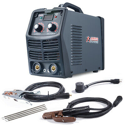 MMA-180, 200 Amp Stick Arc Inverter DC Welder, 115V & 230V Dual Voltage Welding