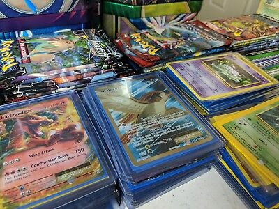 Pokemon Card Lot 100+ OFFICIAL TCG Cards GX/EX +HOLOS Guarenteed