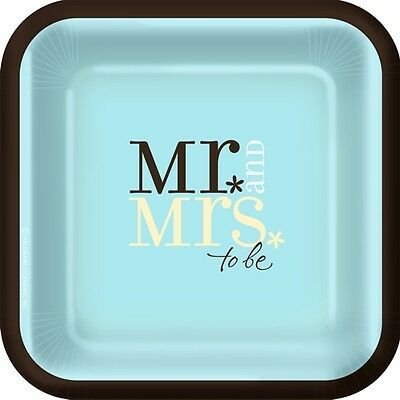 SET OF 6 X PERSONALISED 89 x120.7MM  MR & MRS TO BE  WINE BOTTLE LABELS