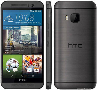 Unlocked HTC One M9 AT&T 4G LTE 5'' 20MP Android Smartphone 3 Colors