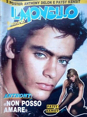 IL MONELLO n.15- 1987- Anthony DELON - Patsy Kensit-  Curiosity killed the cat