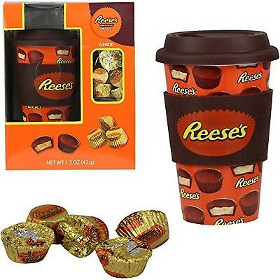 Hershey Travel Mug with Reese's Holiday Gift Set