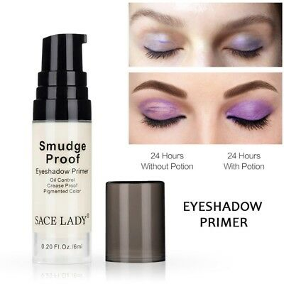 6ML Long Lasting Eye Base Primer Eye Shadow Cream Liquid Natural Makeup Cosmetic