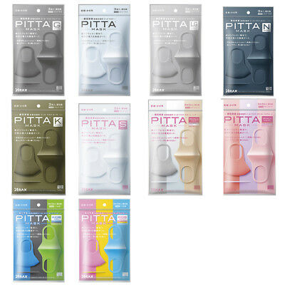 Japan Pitta Mask Japanese Anti-Pollution Face Mask Regular All Color