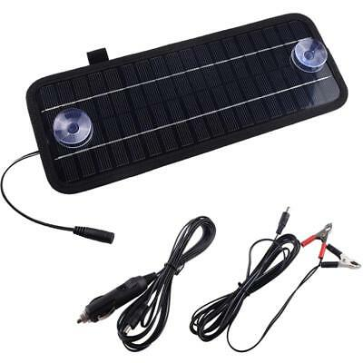 5W 12V Solar Power Panel Trickle Battery Charger For Car SUV Truck Boat Caravan