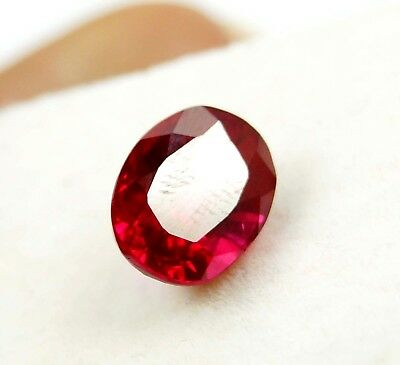 GGL Certified Natural 5.40 Ct Oval Cut Red Ruby Mozambique Gem New Year Offer