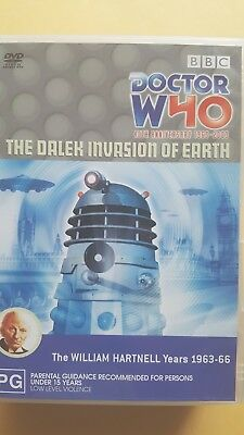 Doctor Who - Dalek Invasion Of Earth - W. Hartnell [ 2 DVD Set ] Like New, R 4