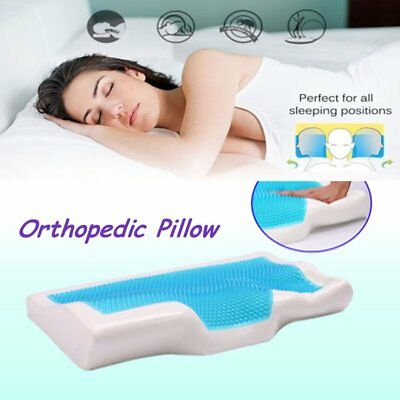 Contour Comfort Memory Foam Pillow Orthopaedic Firm Head Neck Back Support F3