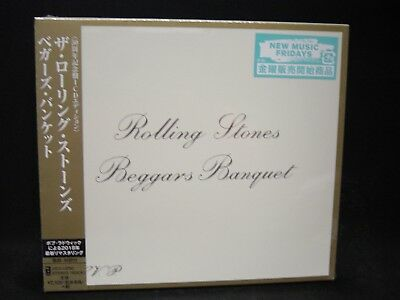 THE ROLLING STONES Beggars Banquet JAPAN CD REMASTER 50th ANNIVERSARY EDITION